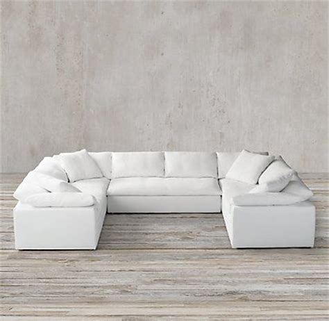 cloud sectional sofa best 25 restoration hardware sectional ideas on