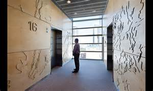 Door Wall Mural rio tinto headquarters environmental graphics segd