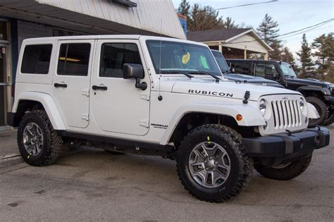 White Jeeps For Sale 2014 White Jeep Rubicon Unlimited For Sale