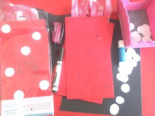 Ni Ribbon Dot Dress crafttini diy minnie s bow tique birthday supply