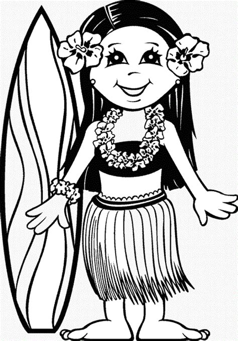 Printable Luau Coloring Pages Coloring Me Luau Coloring Pages
