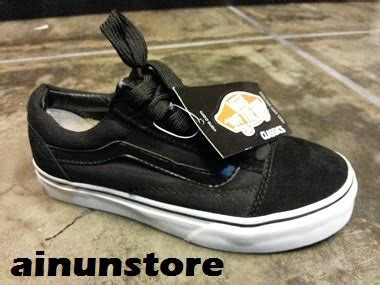 Vans Authentic Black Gum Wafle Hf ainun store