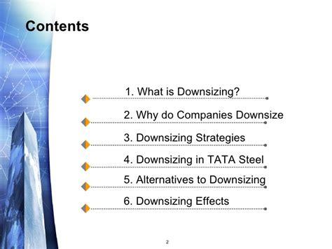 downsizing meaning downsizing
