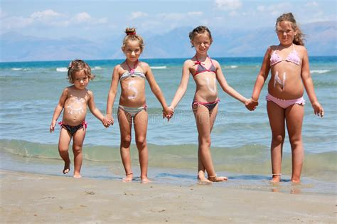 naturism kids gallery children on the beach stock image image of healthy