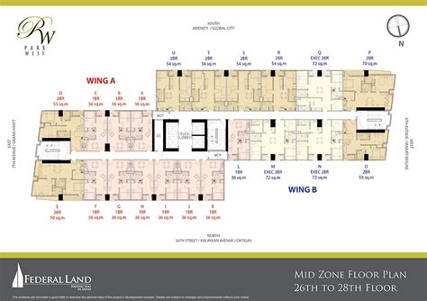 park west floor plan park west fort condominums for sale at bgc makati