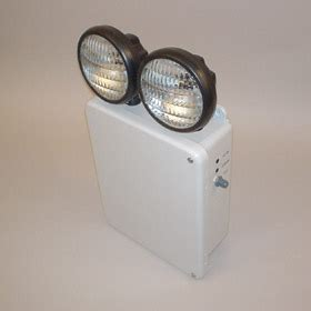Lu Emergency 36 Watt encore lighting 6ex series 6 volt dual 36 watt emergency light unit