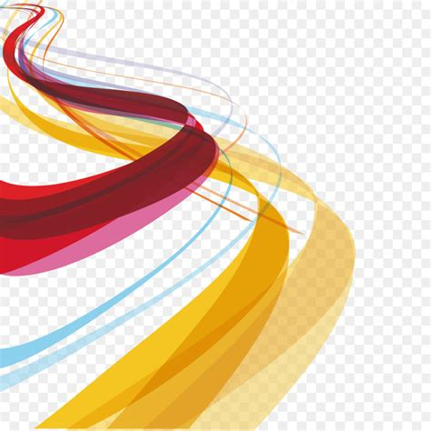 lines and colors color curve graphic design vector and wavy lines