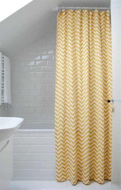 yellow bathroom curtains 10 yellow shower curtain designs rilane