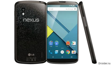 android 5 0 nexus 5 android 5 0 доступен для lg nexus 4 droider ru