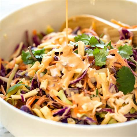 printable coleslaw recipes asian slaw recipe real housemoms