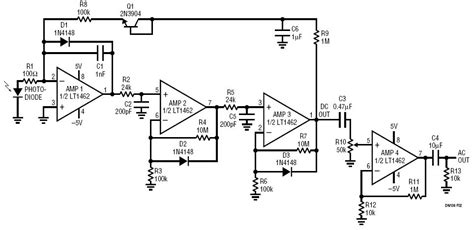 photodiode bias voltage solutions logging photodiode jfet lifier with 1pa input bias current