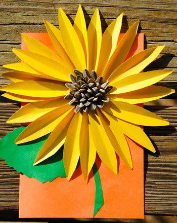 Garden Craft Projects - 30 stunning sunflower crafts red ted art s blog