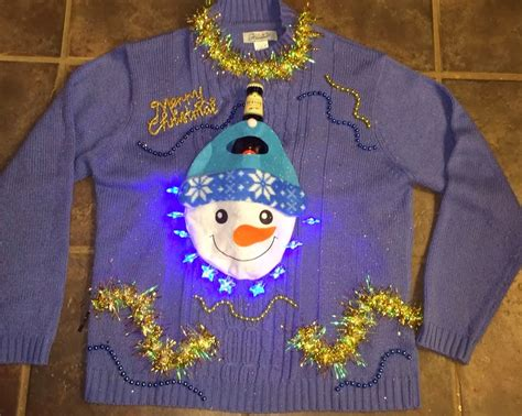 ugly christmas sweater ideas with lights diy handmade ugly christmas sweater ideas crafty morning