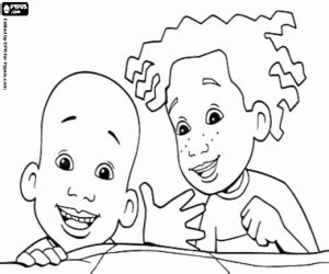 little bill coloring pages printable games