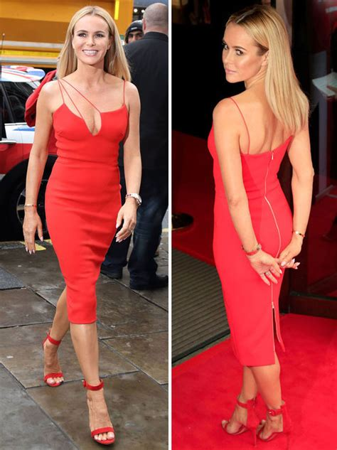 New Amanda 3 Dress amanda holden steals the show in dress at britain s got talent launch news