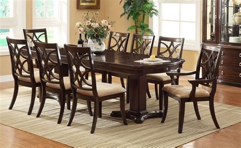 dining room table sets perfect formal dining room sets for 8 homesfeed