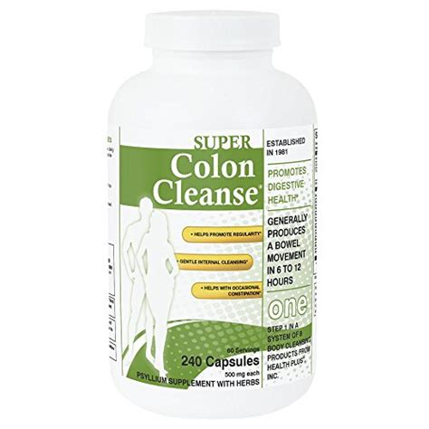 Detox Diet Plan For Constipation by Colon Cleanse 10 Day Cleanse Made With Herbs And