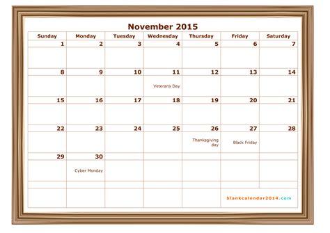 february calendar 2015 template 8 best images of november 2015 calendar printable