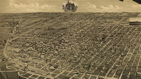 at of nebraska lincoln lincoln nebraska history and cartograph 1889