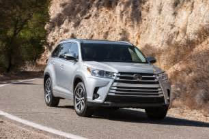 Toyota Highlander Vs 2017 Toyota Highlander 8 Things To Motor Trend