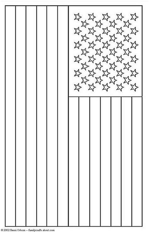 pages american flag american flag coloring page free printable pictures