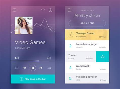 design html audio player ui design showcase audio players