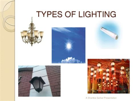 types of lighting in types of lighting in interior design ppt