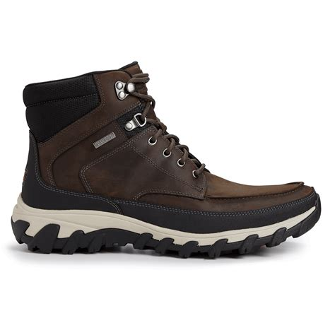 rockport boots cold springs plus moc toe boot rockport