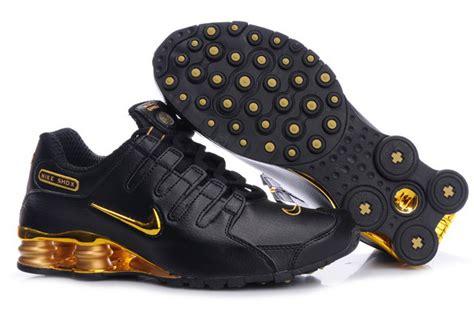 Nike Shox Schwarz Gold 1976 by Mens Nike Shox Nz Black Gold Www Nikecheapshox Org Www