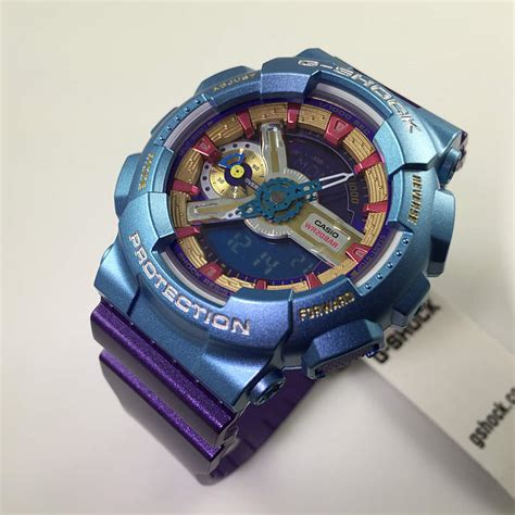 s purple casio g shock s series gmas110hc 6