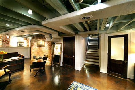 loft style basement