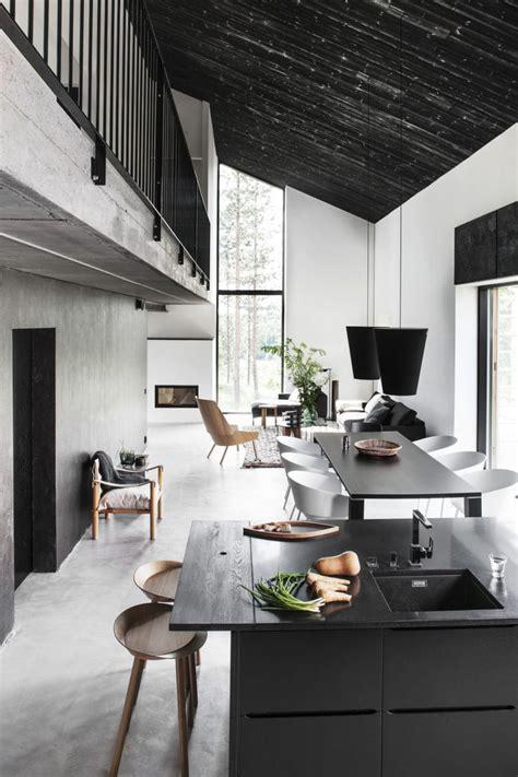 modern home interior design black best 25 black ceiling ideas on pinterest black and