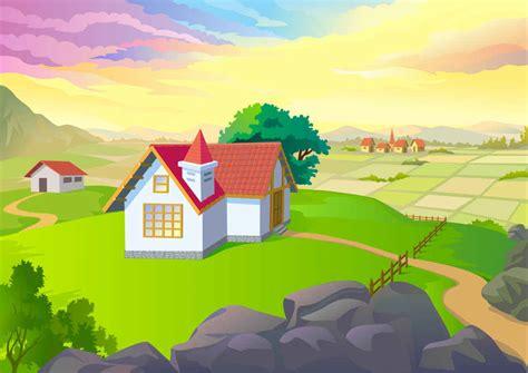 wallpaper cartoon landscape free vector art free vector graphics download 120 free
