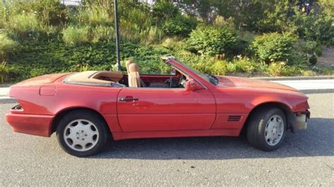 1992 mercedes benz 500sl convertible not running for