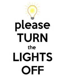 turn the lights keep calm and carry on image