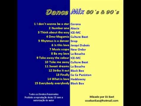 youtube dance music anos 80 90 dancemix o melhor da m 250 sica dance anos 80 180 s 90 180 s youtube