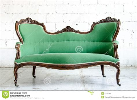 green vintage couch luxury green vintage style armchair sofa couch in vintage
