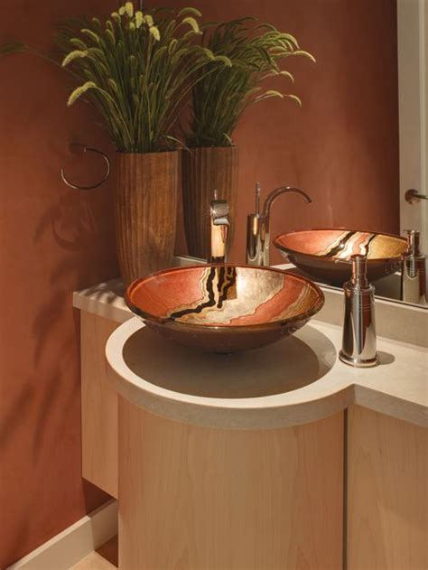 Vessel Sink Bathroom Ideas Vessel Sink Ideas Pictures Remodel And Decor