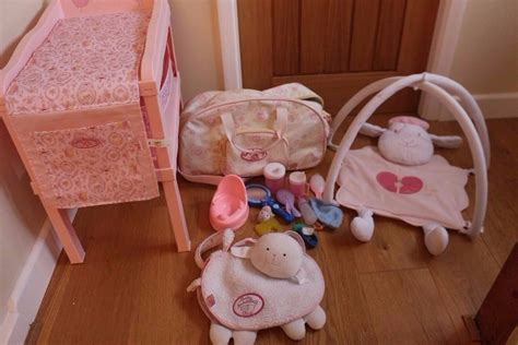 Baby Annabell Changing Table Doll Baby Annabell Accessories Changing Table Storage Bag Baby Activity Bundle