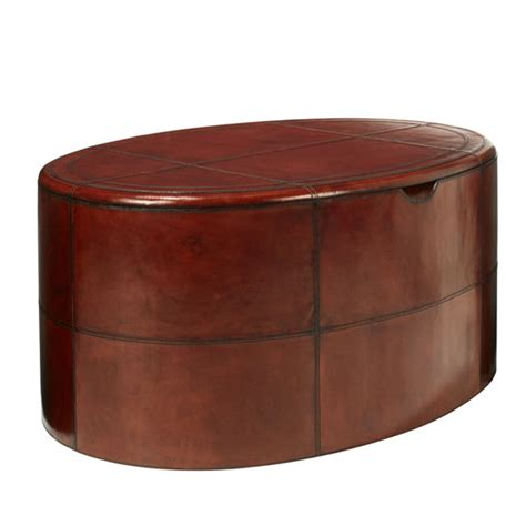 saddle leather ottoman saddle leather ottoman oka