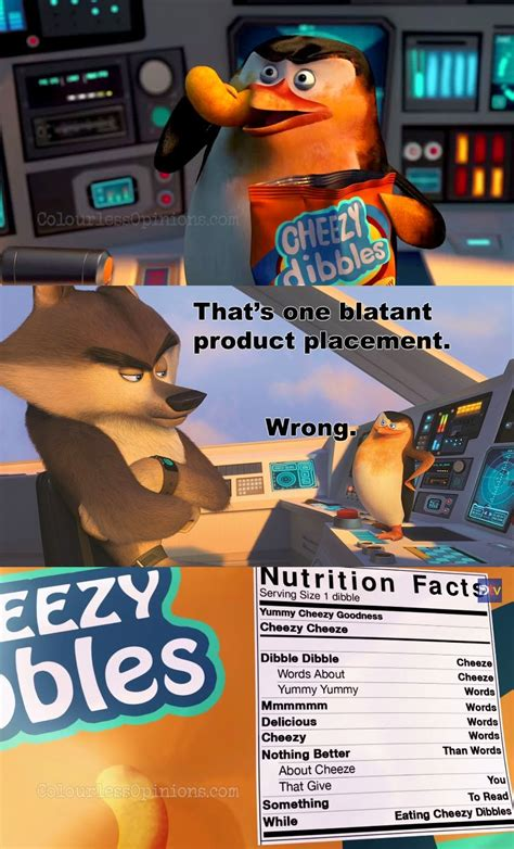 Madagascar Meme - penguins madagascar cheezy dibbles skipper still meme jpg