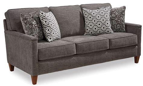 Broyhill Sofa Fabrics by Lawson Gray Fabric Sofa 4254 3q Broyhill