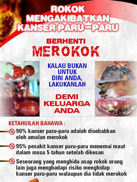 Baju Anti Rokok kembara alam aadk kesan dan bahaya merokok