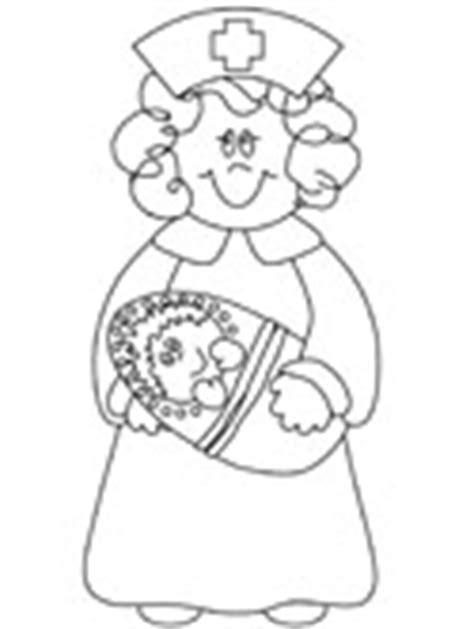 baby nurse coloring pages nurses coloring pages