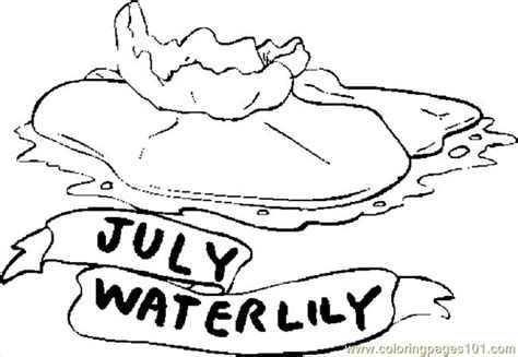 the color of water in july 07 july water coloring page free flowers coloring