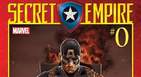 libro secret empire impactante portada de secret empire 0