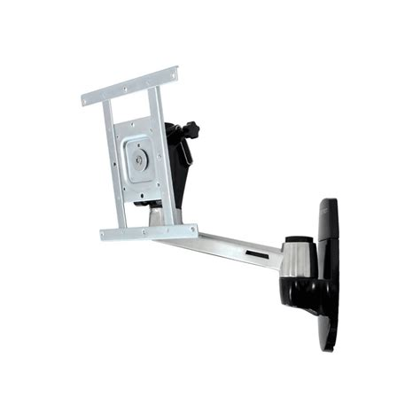 swing arm wall mount ergotron neo flex adjustable hd wall mount for 10 32 inch