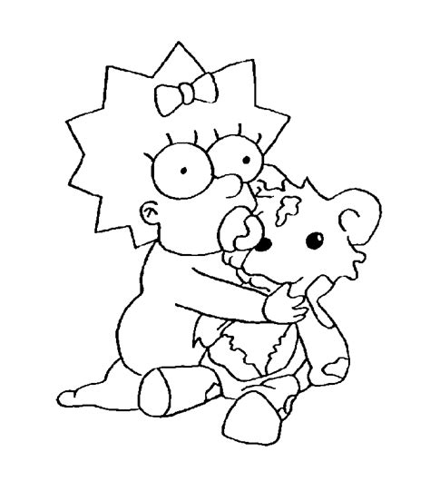 The Simpsons Coloring Pages Az Coloring Pages The Simpsons Colouring Pages