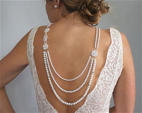 back drop necklace backdrop necklace pearl necklace bridal