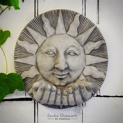garden wall plaques uk sun garden wall plaque onefold uk